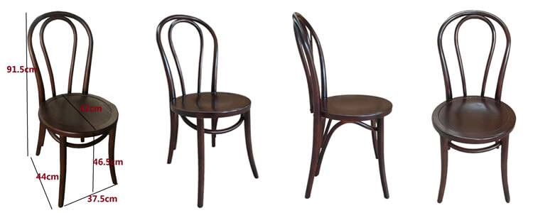 Wooden Thonet Dining Chairs