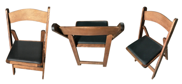 Wholesale Wooden Folding Chairs With Cushion