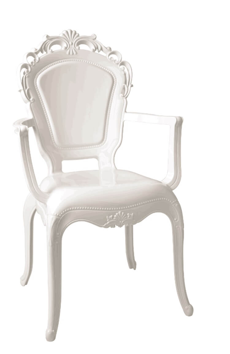 belle chairs with arms