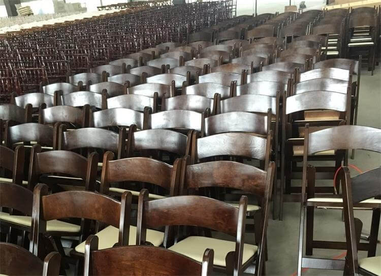 Padded Folding Chairs Bulk