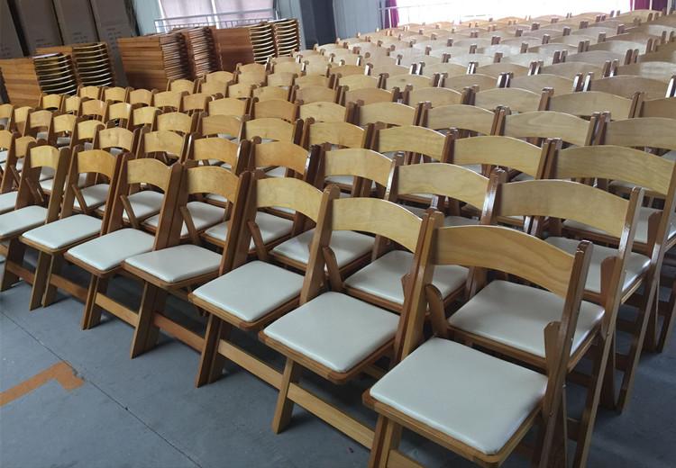 Beech Wood Natural Wood Wedding Chairs