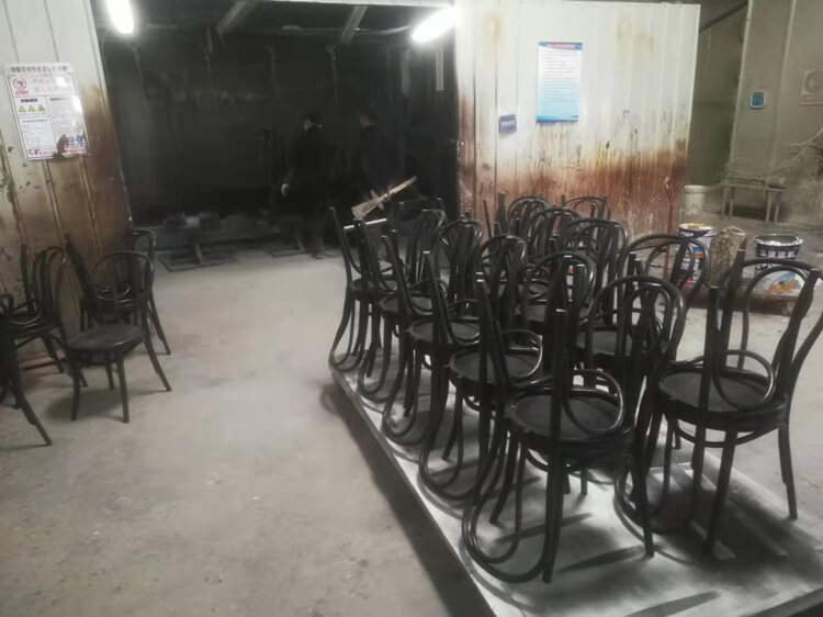 thonet chair painting