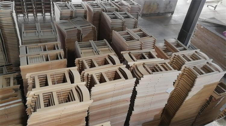 wooden folding chairs factory