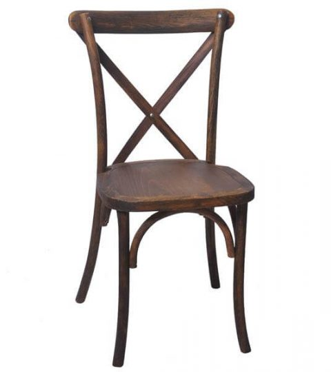 Solid Wood Cross Back Dining Chairs Wholesale