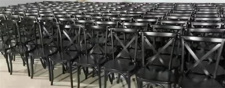 black cross back chairs manufacturer