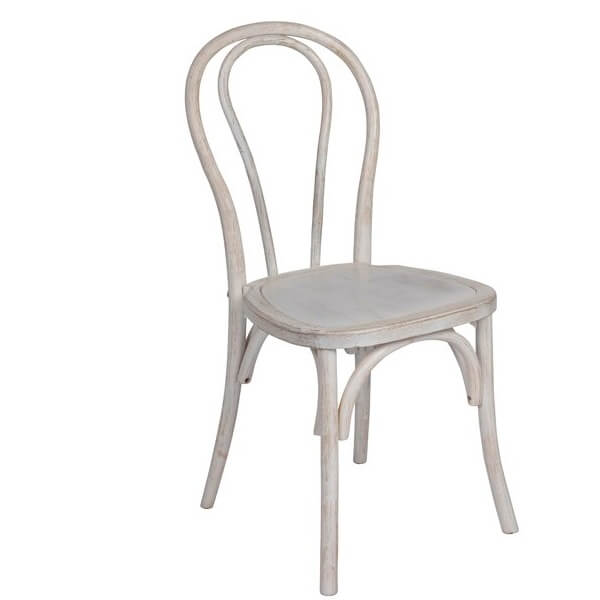 white washed thonet chair wholesale