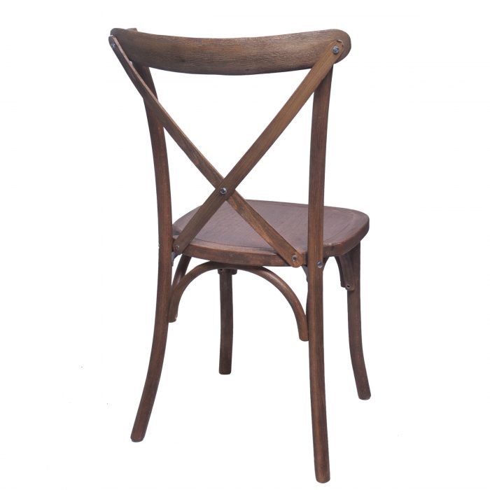 wooden crossback dining chair