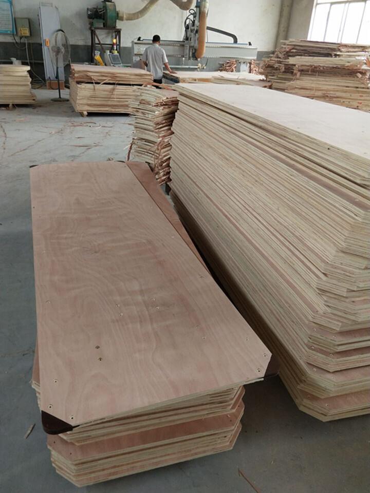 PVC corner folding table
