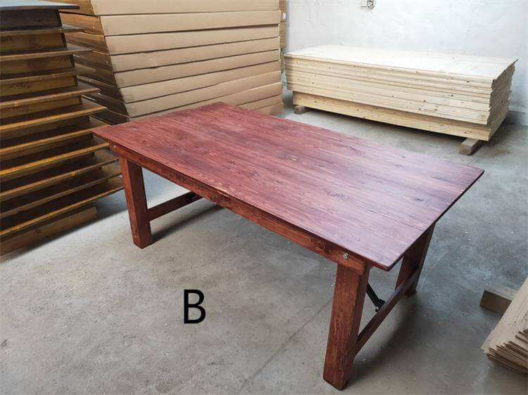B farmhouse tables