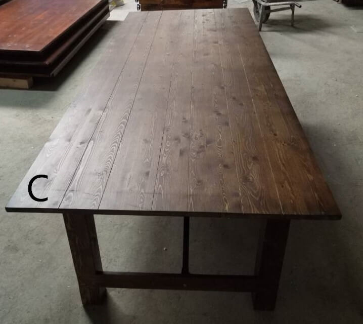 C farmhouse tables