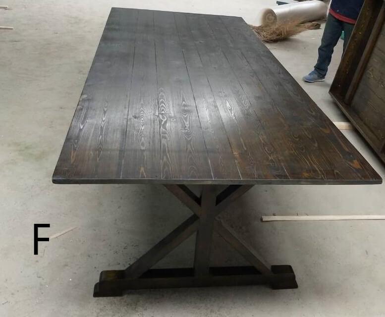 antique farm wood kitchen tables