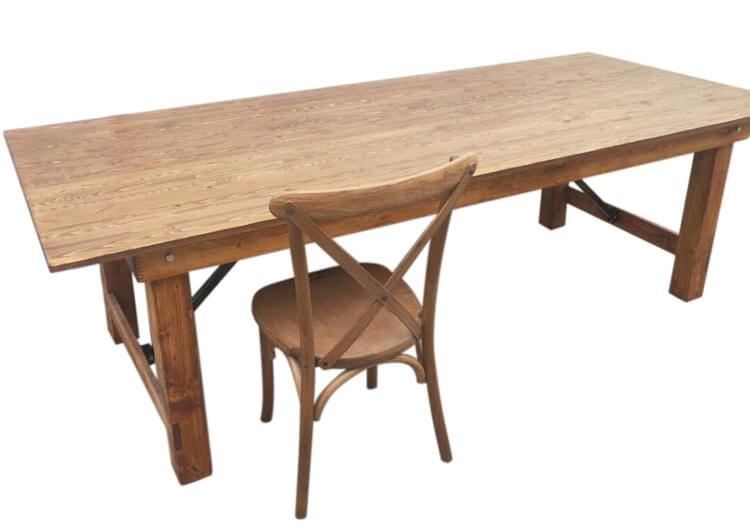 Oak Color Farm Tables