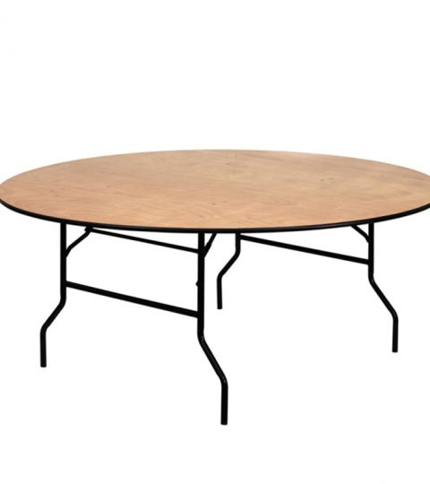 Wooden Round Folding Tables