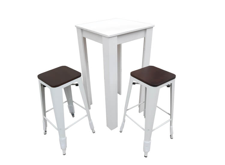 barstool and bar tables