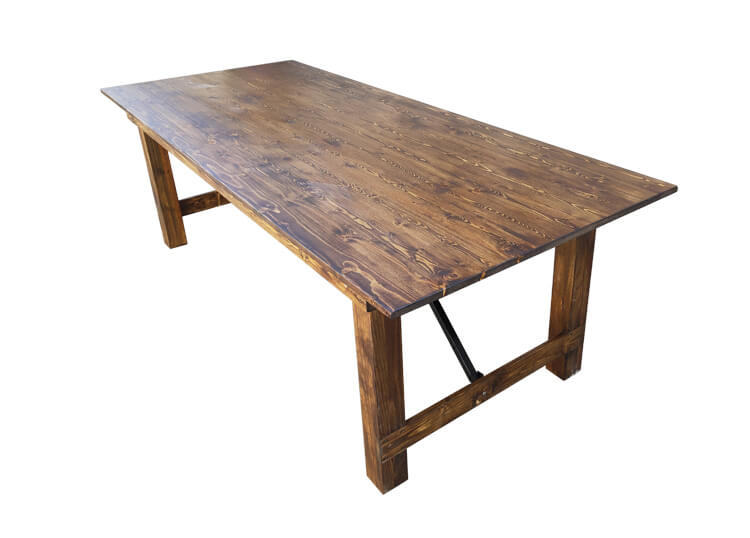 light brown farm table company