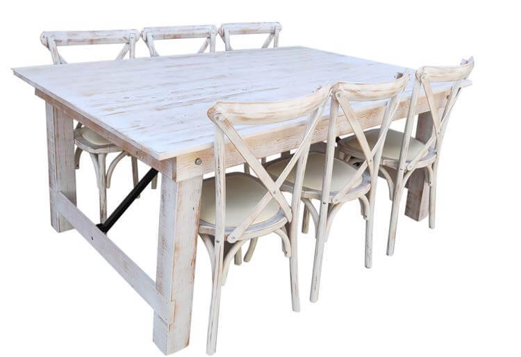 limewash farmhouse tables