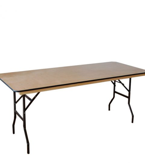 Rectangular Wooden Folding Tables