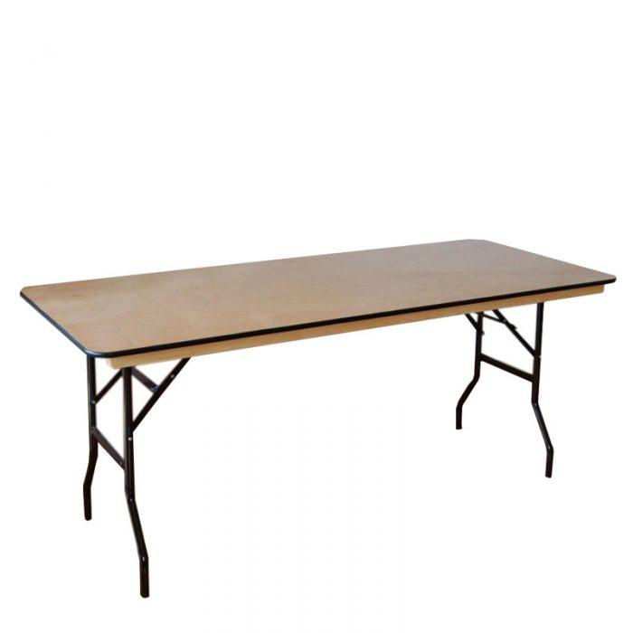 rectangle folding table