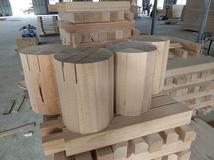 wooden round table wholesale