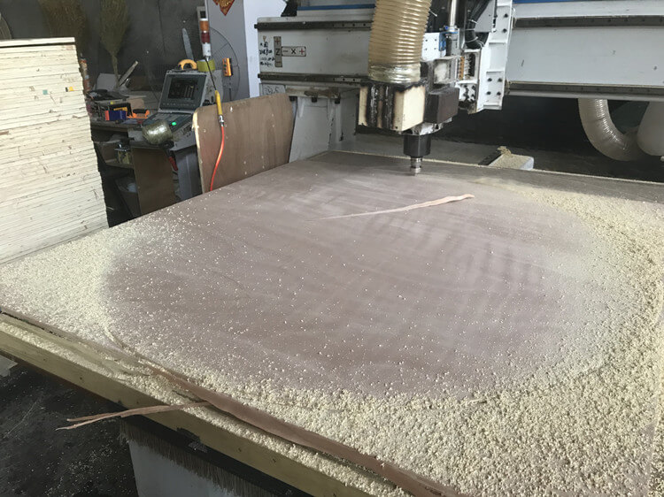 Round Dining Table production