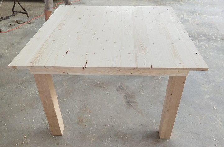 Square Table wood