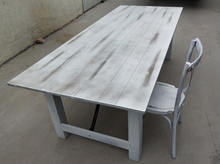 farm table and chairs for sale