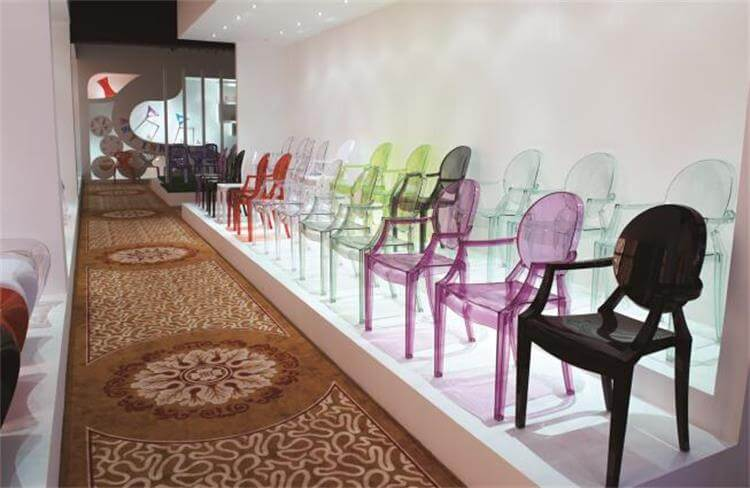 Louis ghost chairs colors