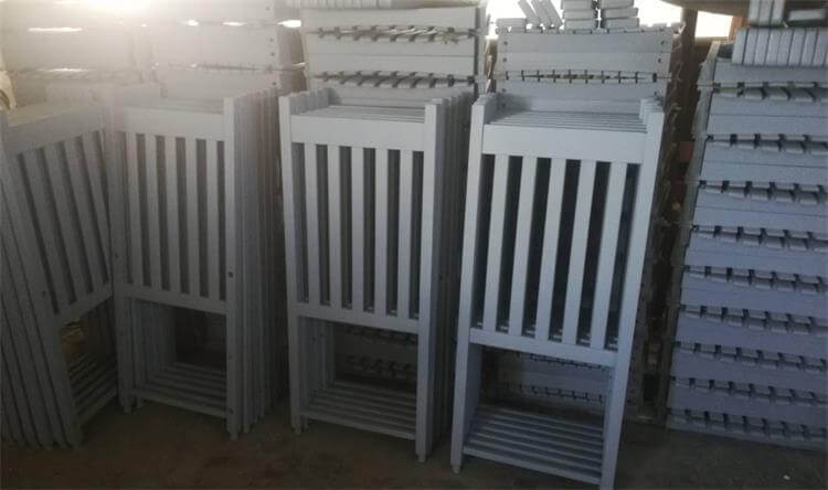 white rocking chairs back parts