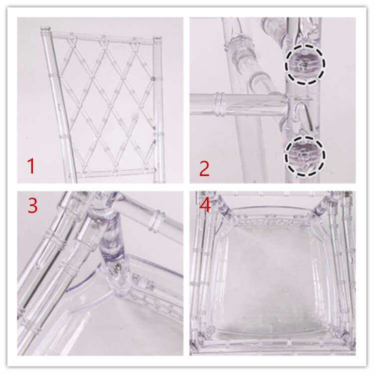 resin diamond chair processing