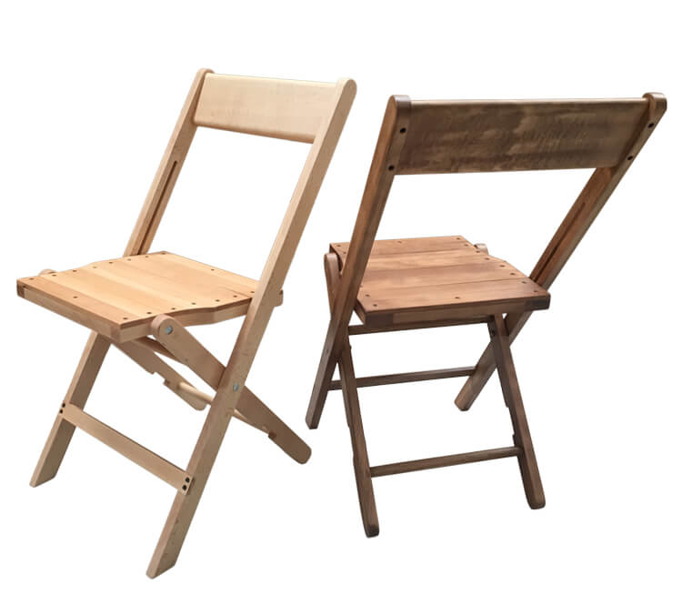 Wholesale Foldable Chairs natural