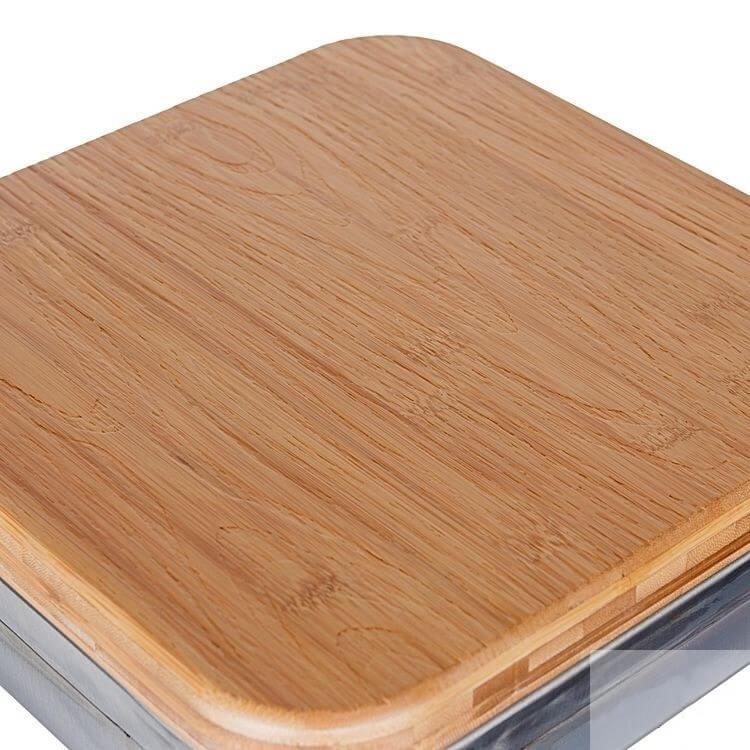Tolix Bar Stool wood seat