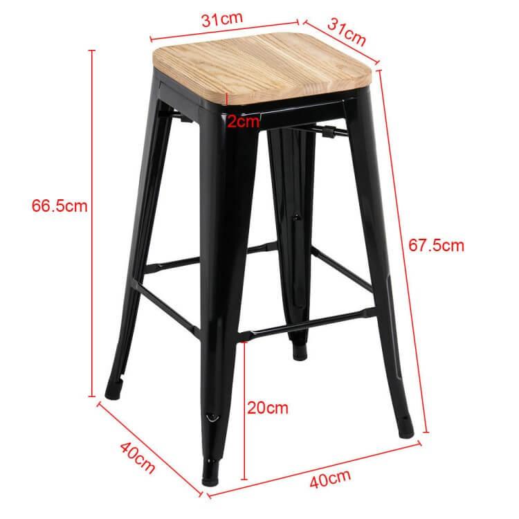 Tolix Bar Stool size