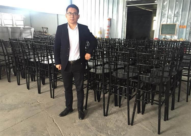 black chiavari chair barstool