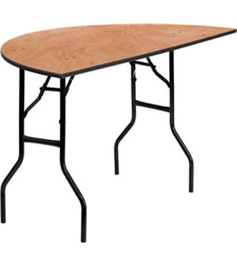 Half-round Folding Table