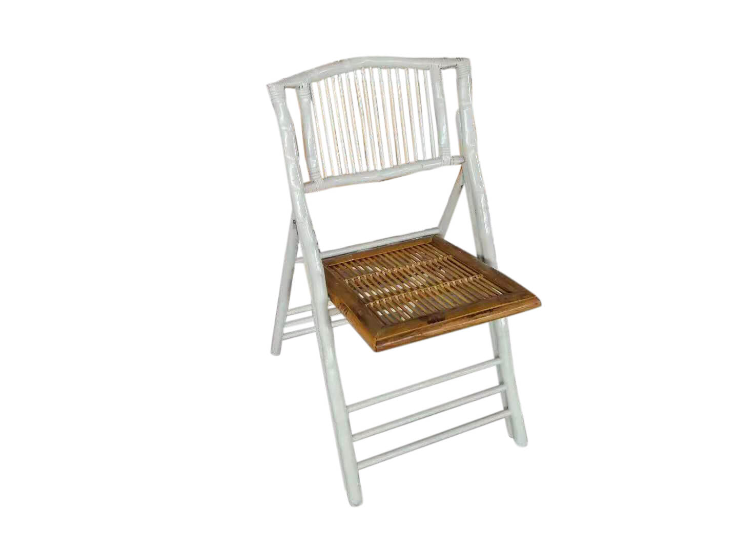 mixed color bamboo folding chairs