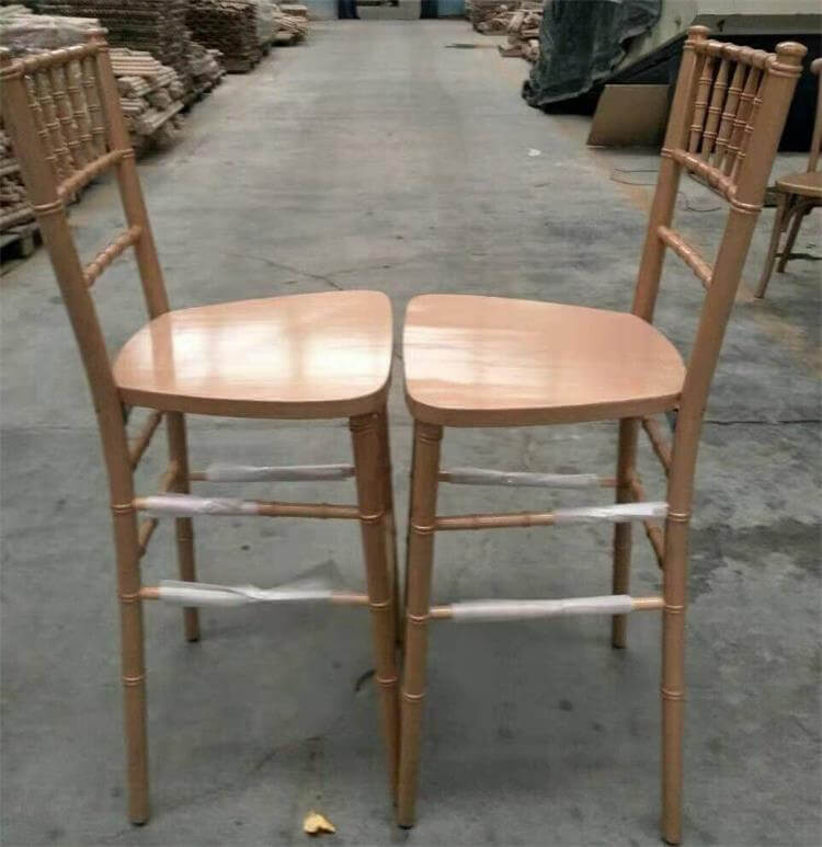 natural wood chiavari chairs manufacturer