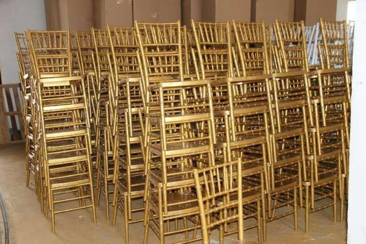 Chiavari chairs manufacturer