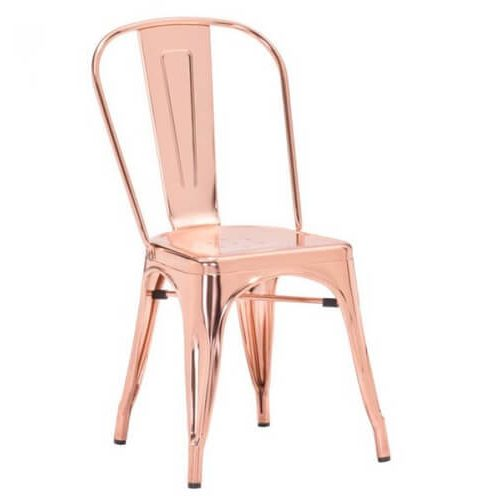 Rose Gold Tolix Chair