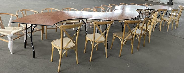 size of tables