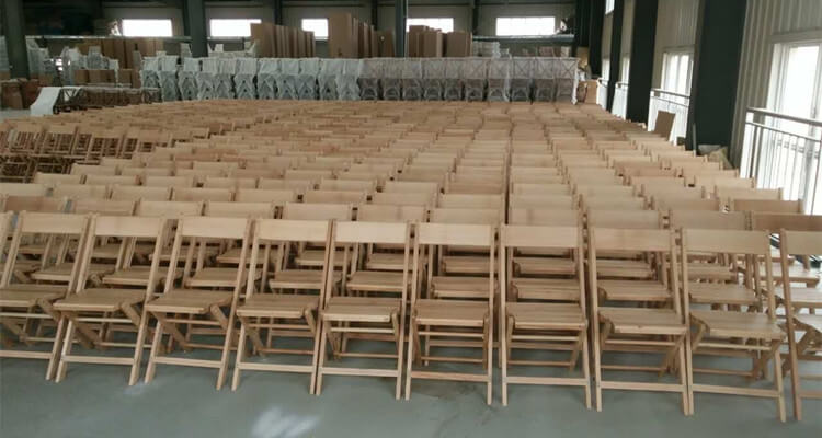 natural antique folding chairs wholesale