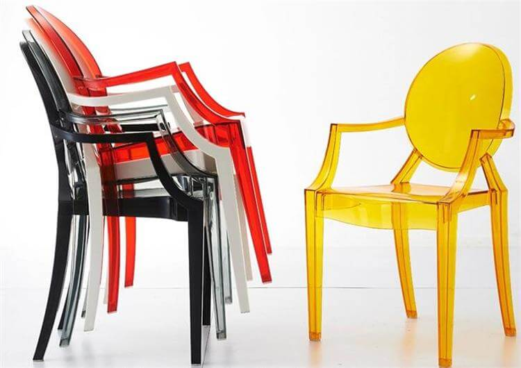 stackable louis chairs