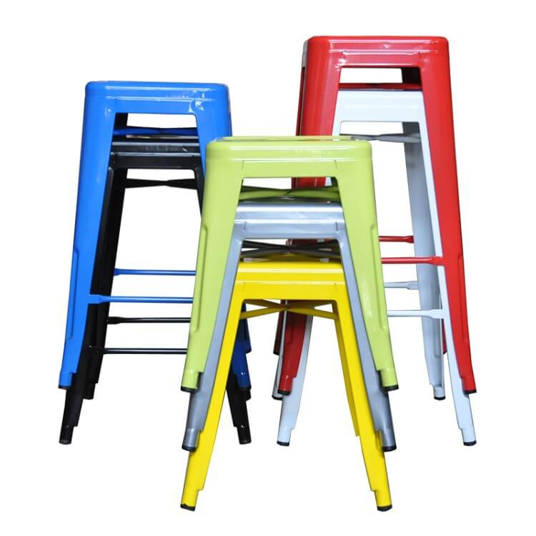 tolix chair barstool stackable
