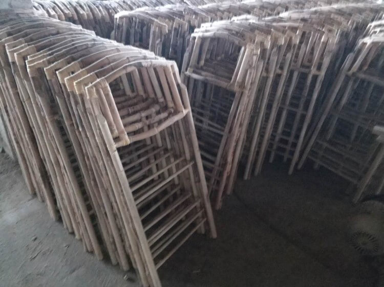 Material Of bamboo chairs