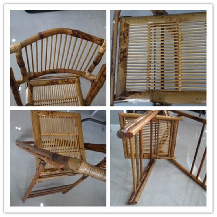 folding bamboo chair supplier