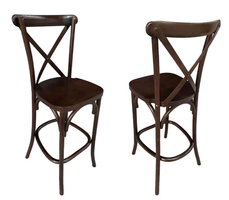 x back chairs barstools wood