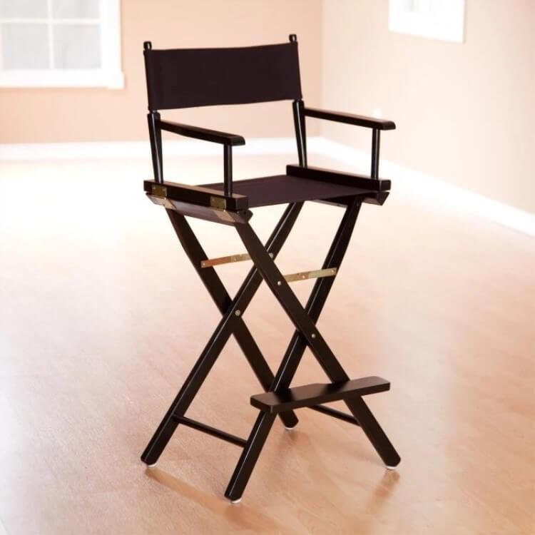 metal directors chairs