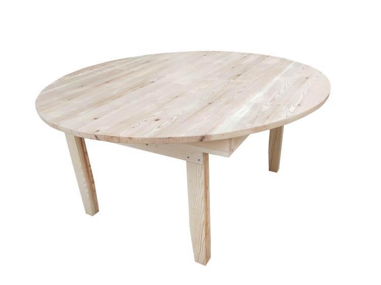 60'' round farm tables