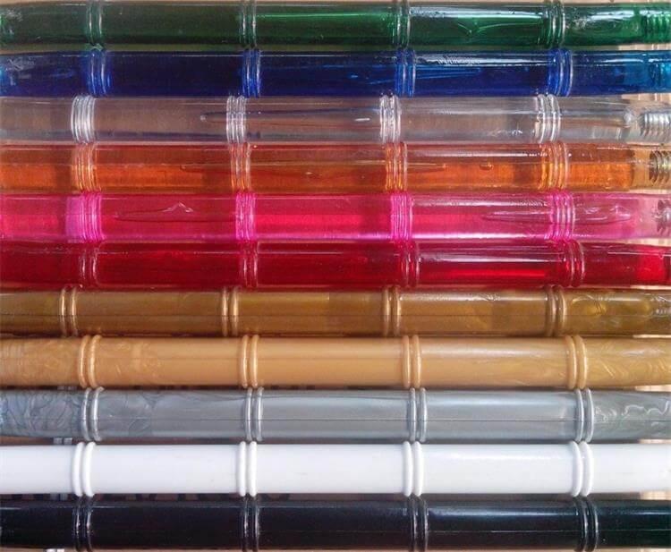 Clear resin chiavari chair colors