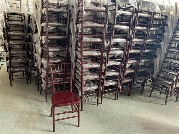 mahogany resin chiavary chairs