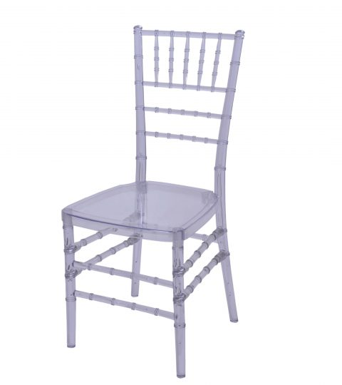 Clear Resin Chiavari Chairs